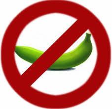 no green banana